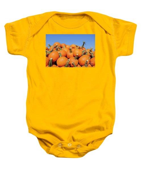 Pile Of Pumpkins Baby Onesie