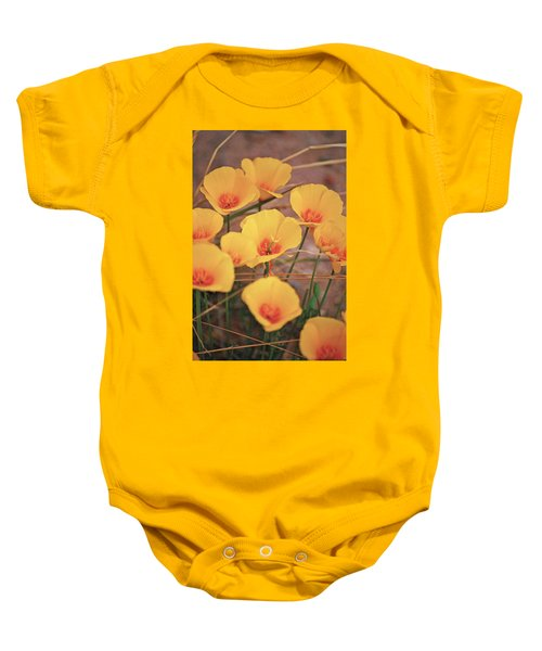Poppies On Mount Lemmon Baby Onesie