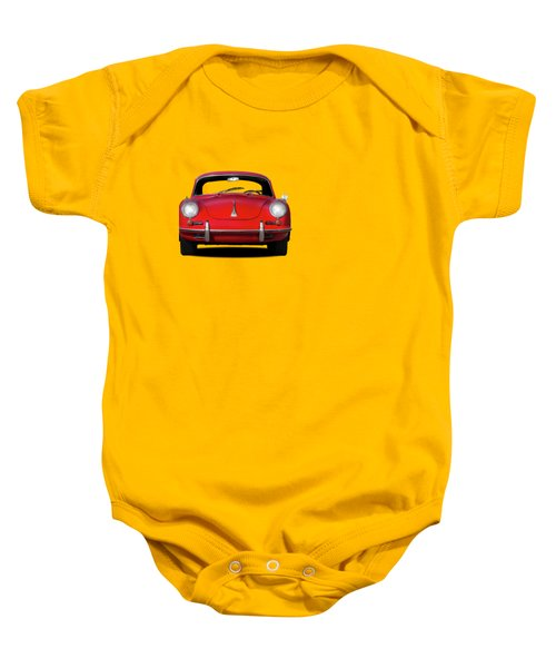 Porsche 356 Baby Onesie by Mark Rogan