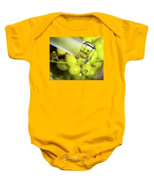 Pour Me Some Vino Baby Onesie