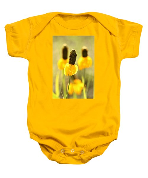 Prairie Coneflower In Morning Light Baby Onesie