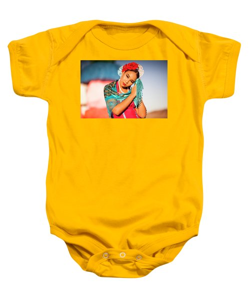Praying Cathy Baby Onesie