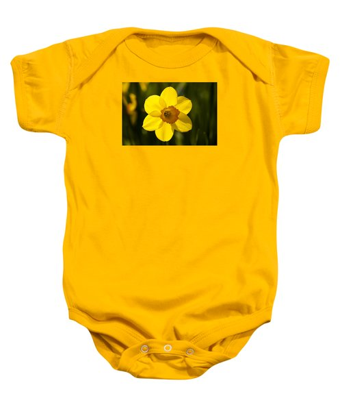 Projecting The Sun Baby Onesie