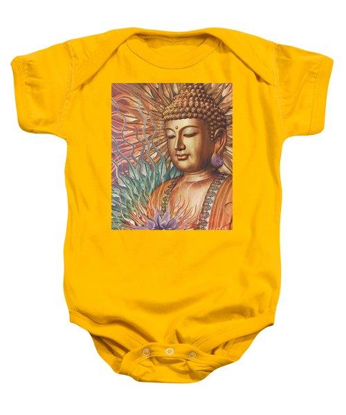 Proliferation Of Peace - Buddha Art By Christopher Beikmann Baby Onesie