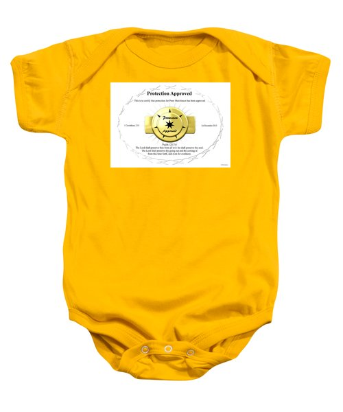 Protection Approved Baby Onesie