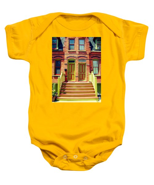 Pullman National Monument Row House Baby Onesie