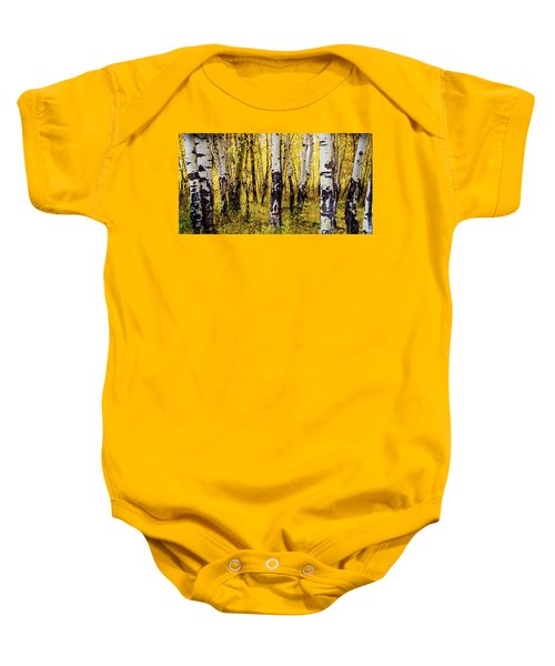 Quakies In Autumn Baby Onesie