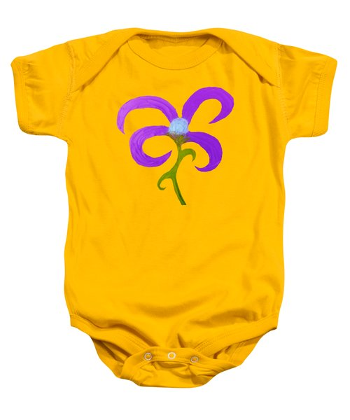 Quirky 3 Baby Onesie
