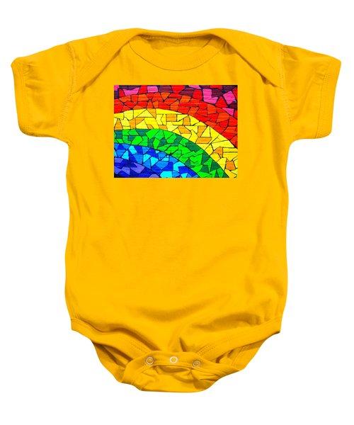Rainbow ... Baby Onesie