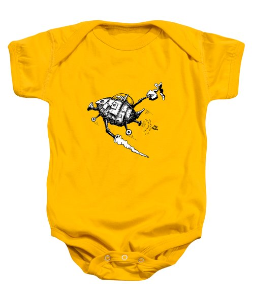 Rats In Space Baby Onesie
