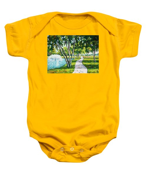 Rcc Golf Course Baby Onesie
