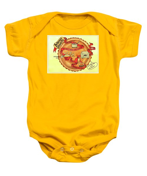 Recipe-butternut Squash Pie Baby Onesie
