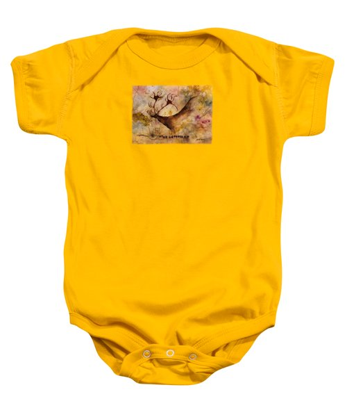 Red Deer Baby Onesie