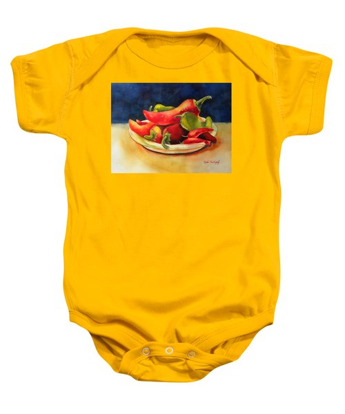 Red Hot Chile Peppers Baby Onesie