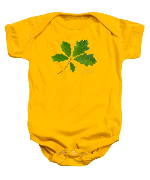 Baby Onesie featuring the photograph Red Oak by Christina Rollo