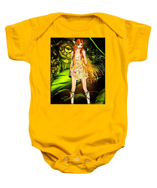 Redhead Forest Pixie Baby Onesie