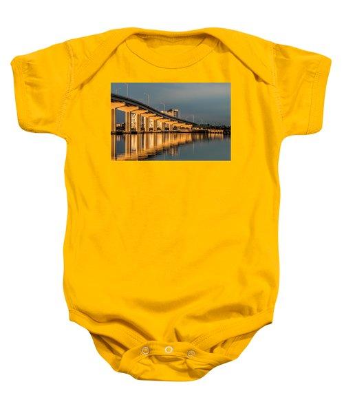 Reflections And Bridge Baby Onesie