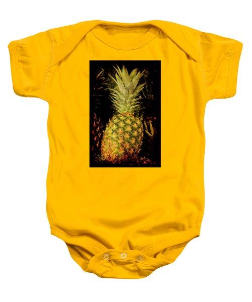 Renaissance Pineapple Baby Onesie
