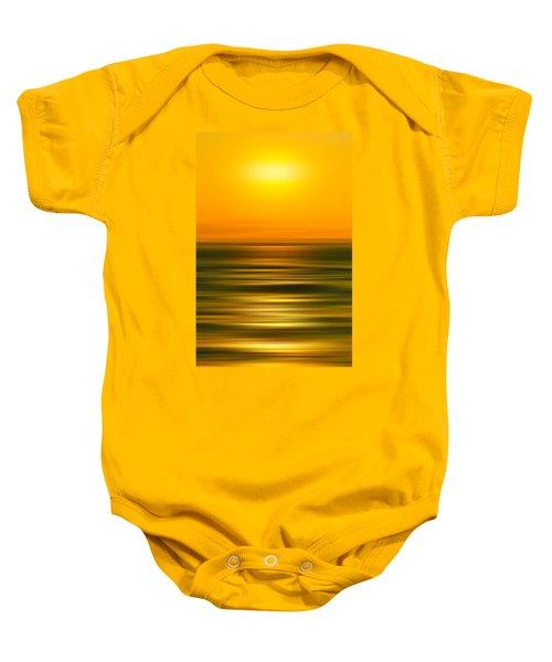 Rising Sun Baby Onesie