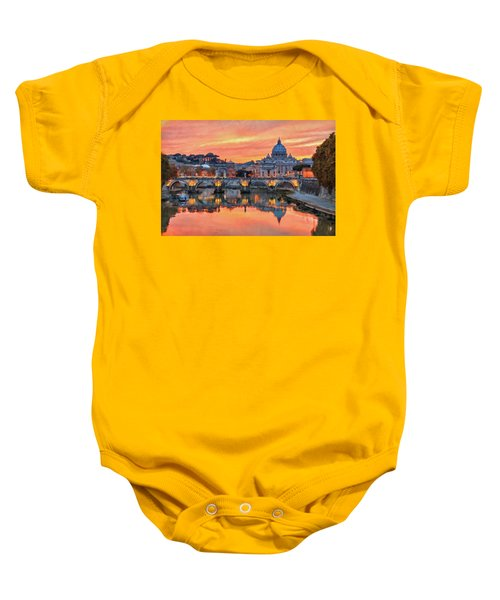 Rome And The Vatican City - 01  Baby Onesie