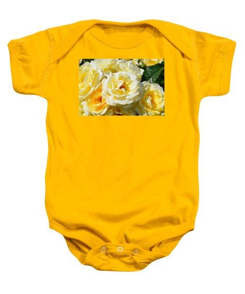 Rose Bush Baby Onesie
