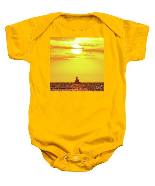 Sailing In Hawaiian Sunshine Baby Onesie