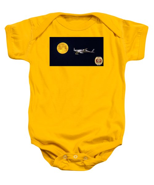 Sam And The Moon Baby Onesie