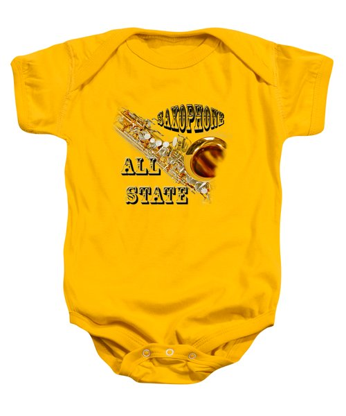 Saxophone All State Baby Onesie