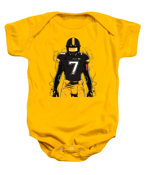 Sb L Pittsburgh Baby Onesie by Akyanyme