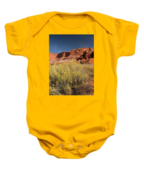 Scenery Capital Reef National Park Baby Onesie