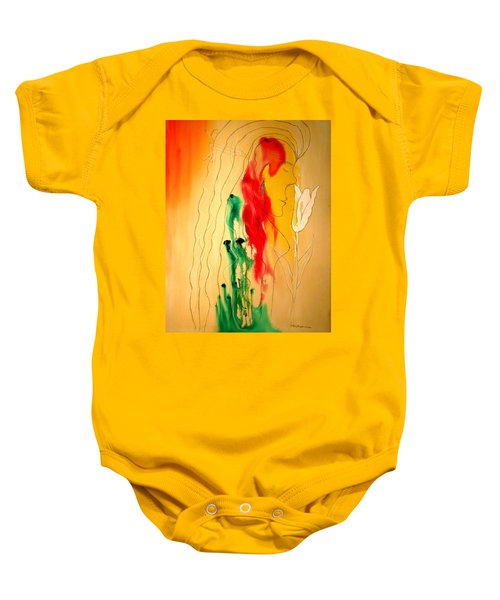 Scent Of An Orchid Baby Onesie