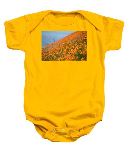 Sea Of Poppies Baby Onesie