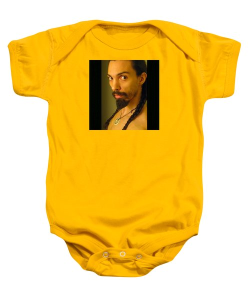 Self Portrait The Native Within Me Baby Onesie