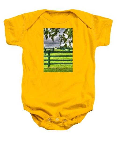 Shawanee Fences Baby Onesie