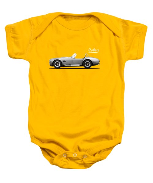 Shelby Cobra 427 Sc 1965 Baby Onesie by Mark Rogan