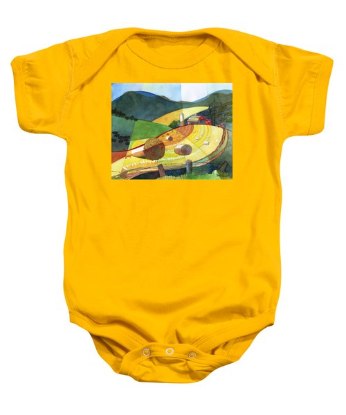Shenandoah Haystacks Baby Onesie