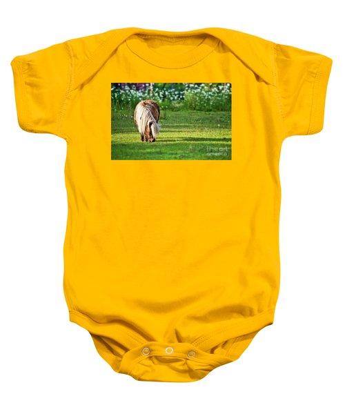 Shetland Pony Baby Onesie