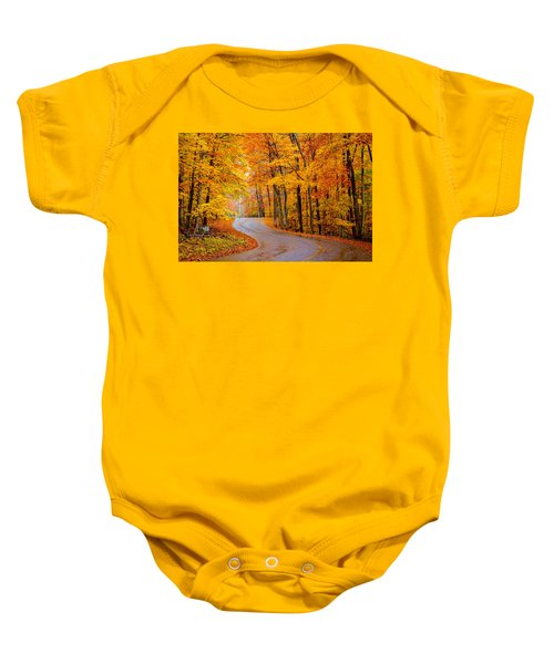 Slippery Color Baby Onesie