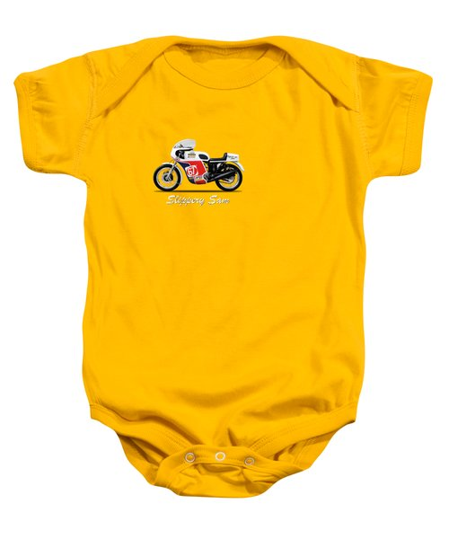 Slippery Sam Production Racer Baby Onesie by Mark Rogan