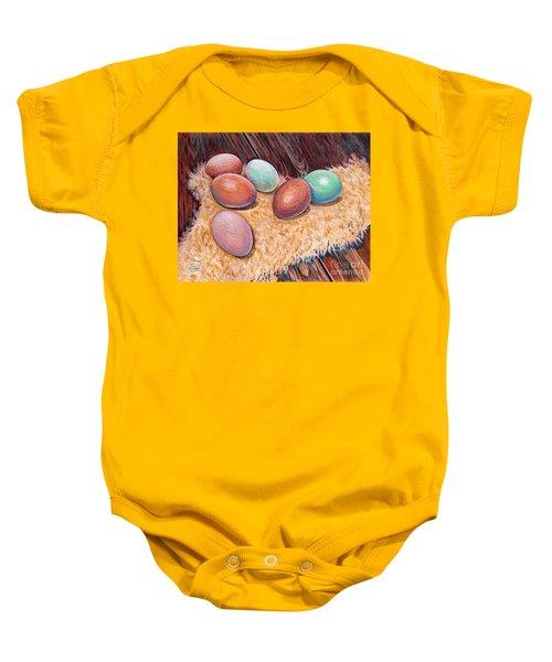 Soft Eggs Baby Onesie