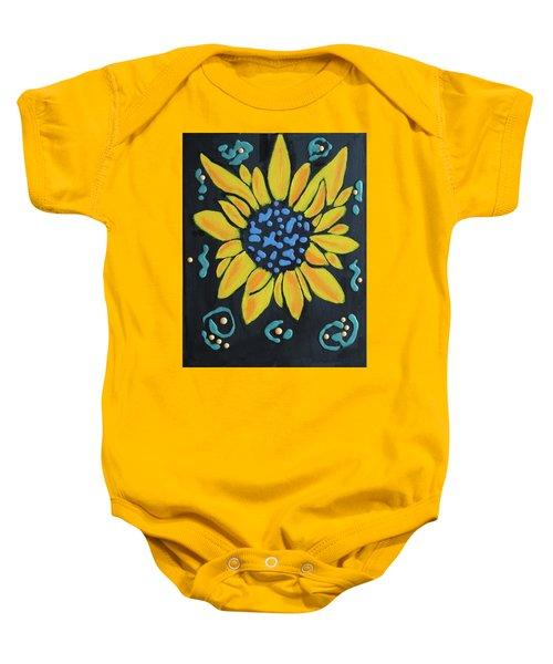Son Flower Baby Onesie