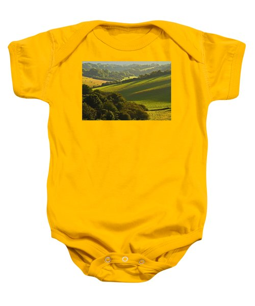 South Downs Baby Onesie