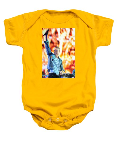 Coldplay4 Baby Onesie by Rafa Rivas