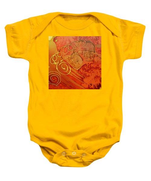 Spiral Baby Onesie