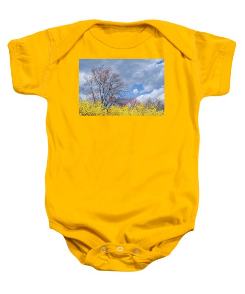 Baby Onesie featuring the photograph Spring 2017 by Bill Wakeley