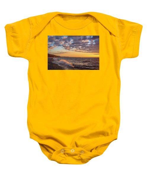 Springtime On Agate Beach Baby Onesie