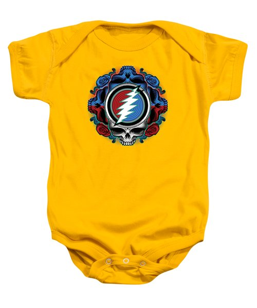 Steal Your Face - Ilustration Baby Onesie