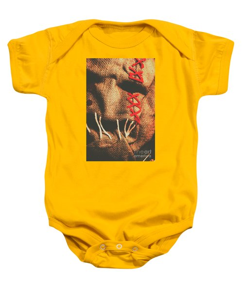 Stitched Up Madness Baby Onesie