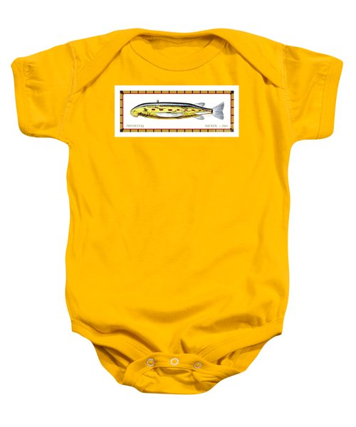 Sucker Ice Fishing Decoy Baby Onesie