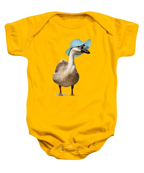 Summer Goose Baby Onesie by Gravityx9  Designs